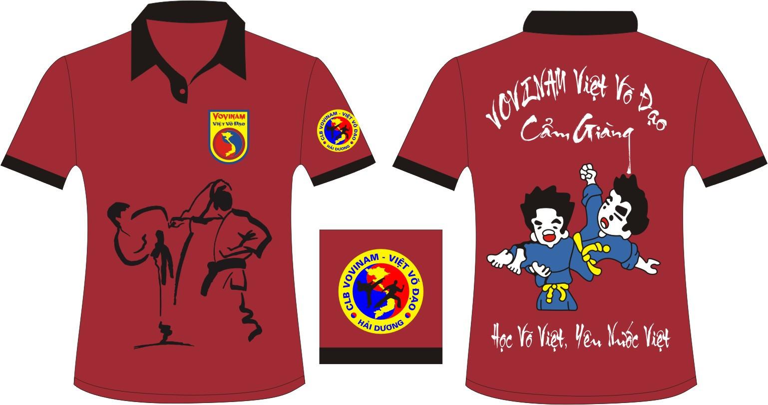 AL21: Đồng phục – Áo lớp VOVINAM0