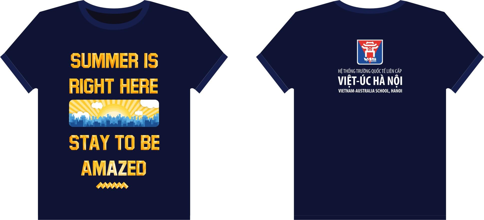 AL26: Đồng phục – Áo lớp trường quốc tế liên cấp Việt-Úc Hà Nội0
