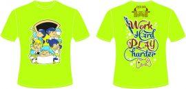 AL136:áo lớp màu xanh chuối – đồng phục lớp màu xanh chuối