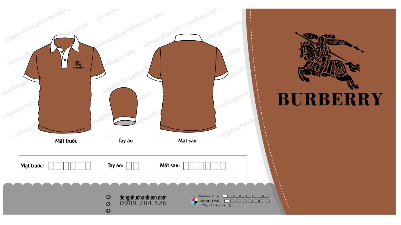 ĐPCT17: Đồng phục – ÁO CÔNG TY (BURBERRY)0