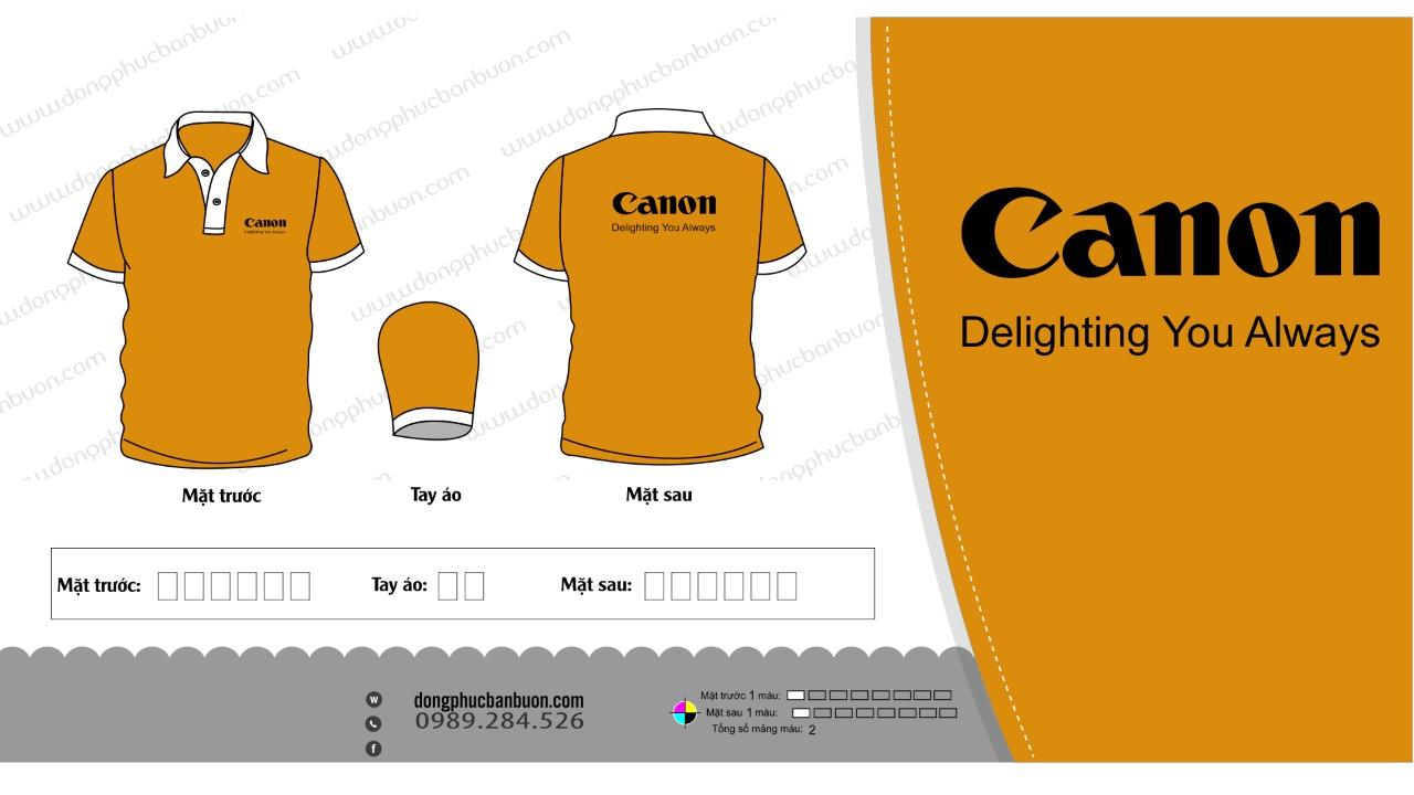 ĐPCT16: Đồng phục – ÁO CÔNG TY (CANON)0