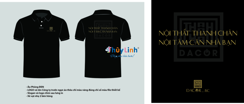 Đơn vị may áo thun đồng phục công ty cam kết chất lượng tại Hà Nội