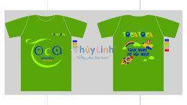 ĐPCT47: Đồng phục – In áo đồng phục công ty Toca Education