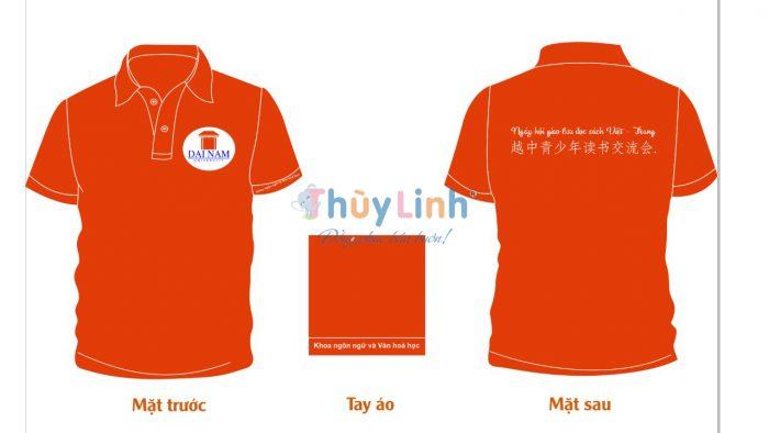 ĐPCT48: Đồng phục – In áo đồng phục công ty Dai Nam