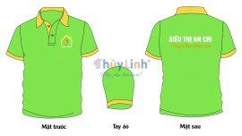 ĐPCT50: Đồng phục – In áo đồng phục siêu thị An Chi