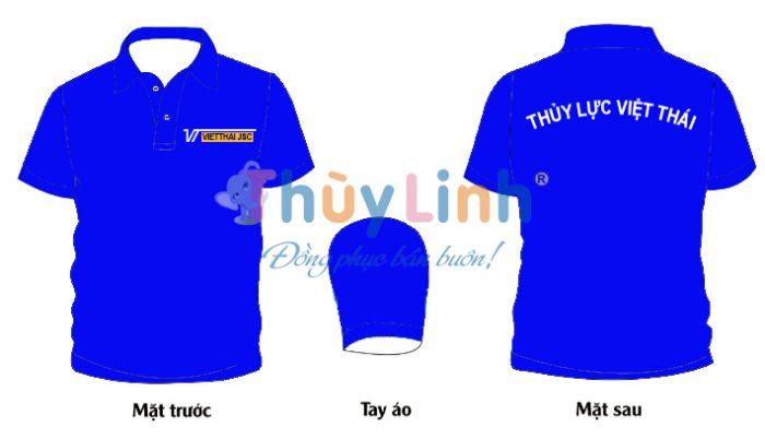 ĐPCT51: Đồng phục – In áo đồng phục Thủy Lực Việt Thái