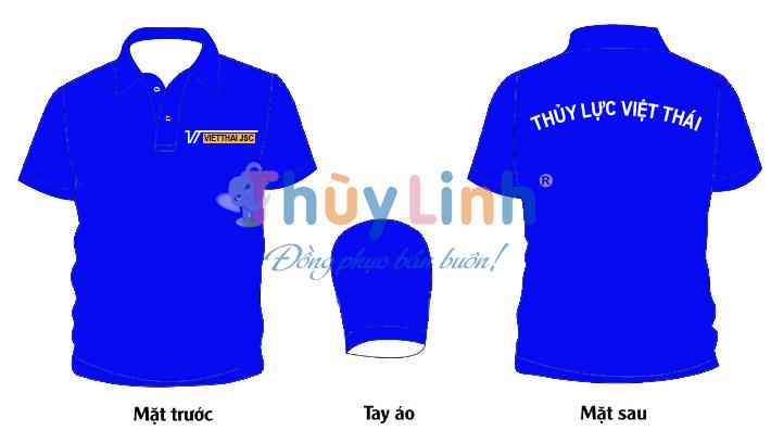 ĐPCT51: Đồng phục – In áo đồng phục Thủy Lực Việt Thái0
