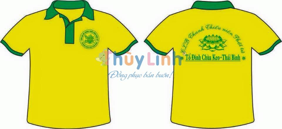 ACLB08: Đồng phục – In áo CLB thanh thiếu niên Phật tử0