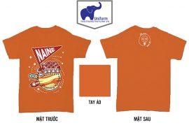 AL152: Áo lớp Naine – áo lớp màu cam