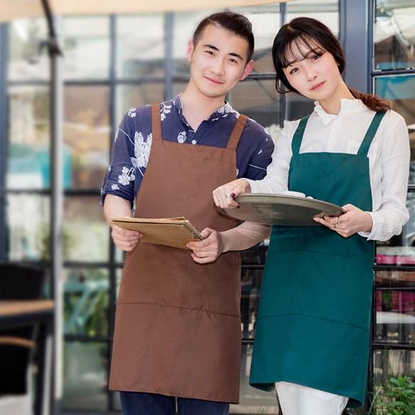 TD15: Tạp dề quán cafe, tạp dề nhà hàng, quán nail