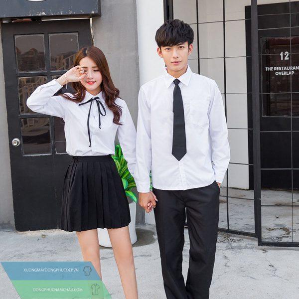 AL114: Đồng phục – Bộ váy và quần học sinh