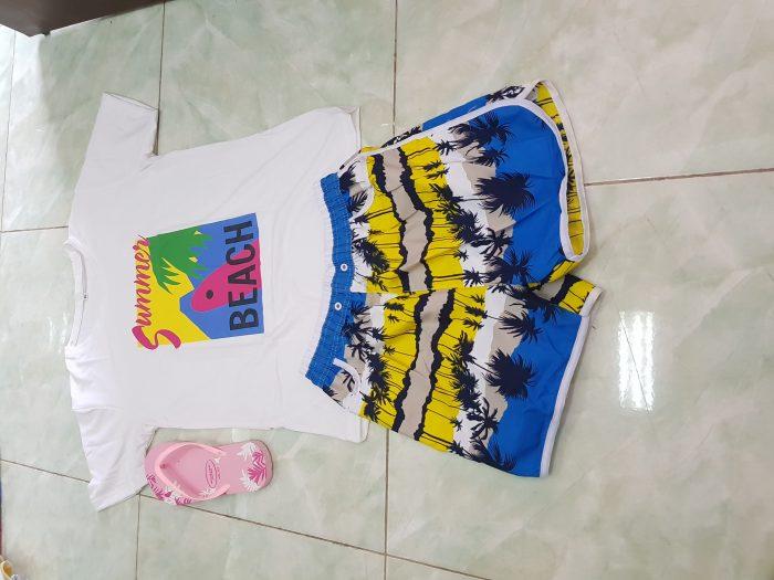 ĐB 101 – quần áo đồng phục gia đình đi biển