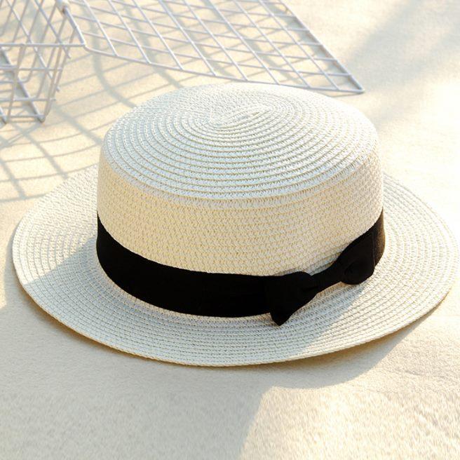 mũ cói đi biển