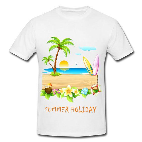 áo đồng phục thun du lịch mùa hè