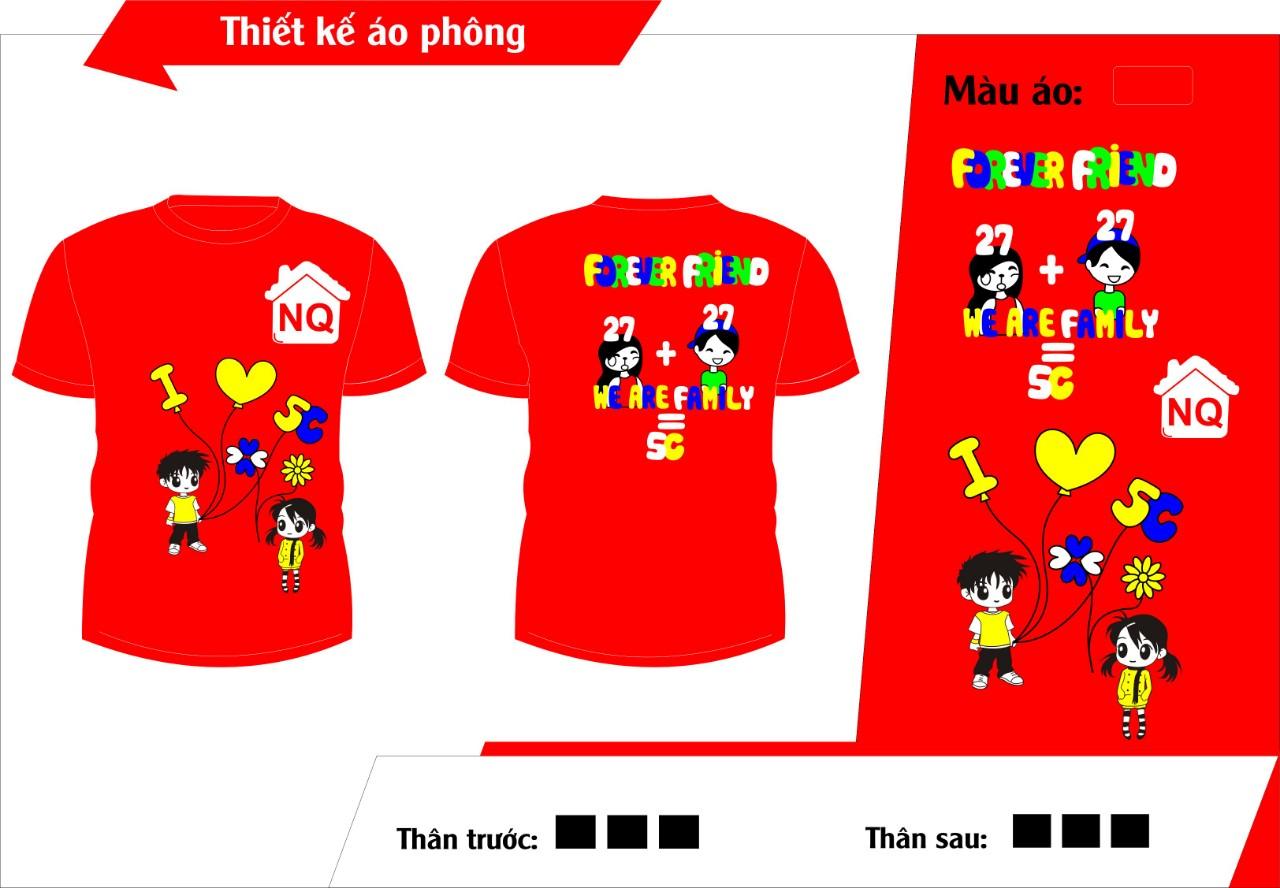 AL125:áo đồng phục lớp – áo lớp0