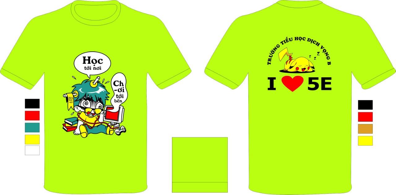 AL113:đồng phục lớp – áo lớp tiểu học – áo lớp trung học phổ thông0