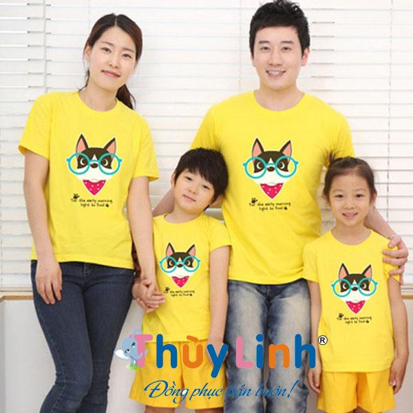 Một số mẫu áo cặp cho gia đình 4 người đẹp nhất
