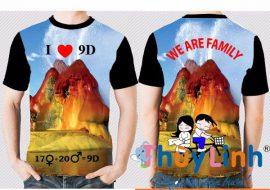 AL145: Áo lớp 3D – We are family