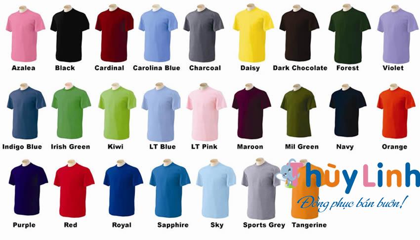 Vải may áo thun đồng phục có những loại nào?