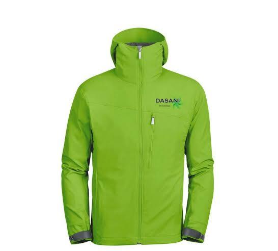 ADPAG51: Đồng phục áo gió xanh lá cây0